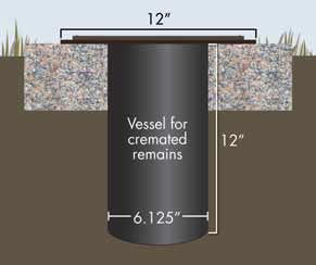 cremation vessel