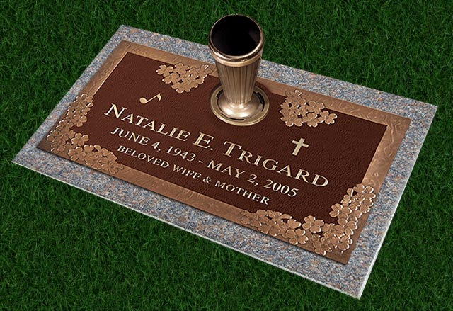 Trigard Grave Markers