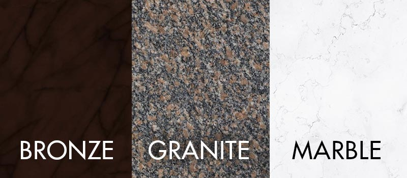 Grave Marker Materials Costs