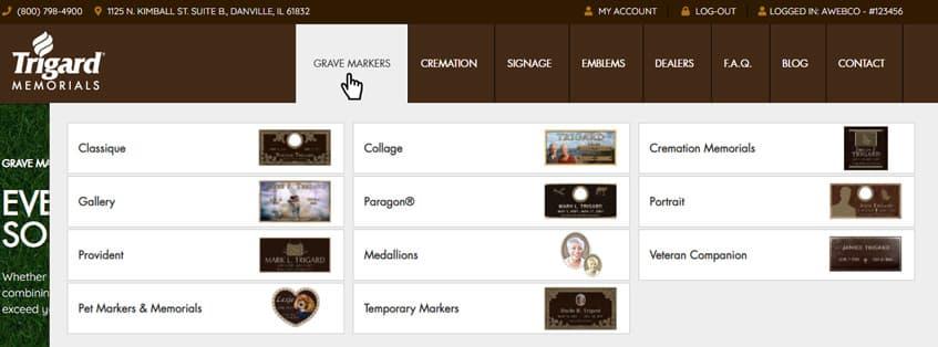 Design Your Custom Grave Marker Online