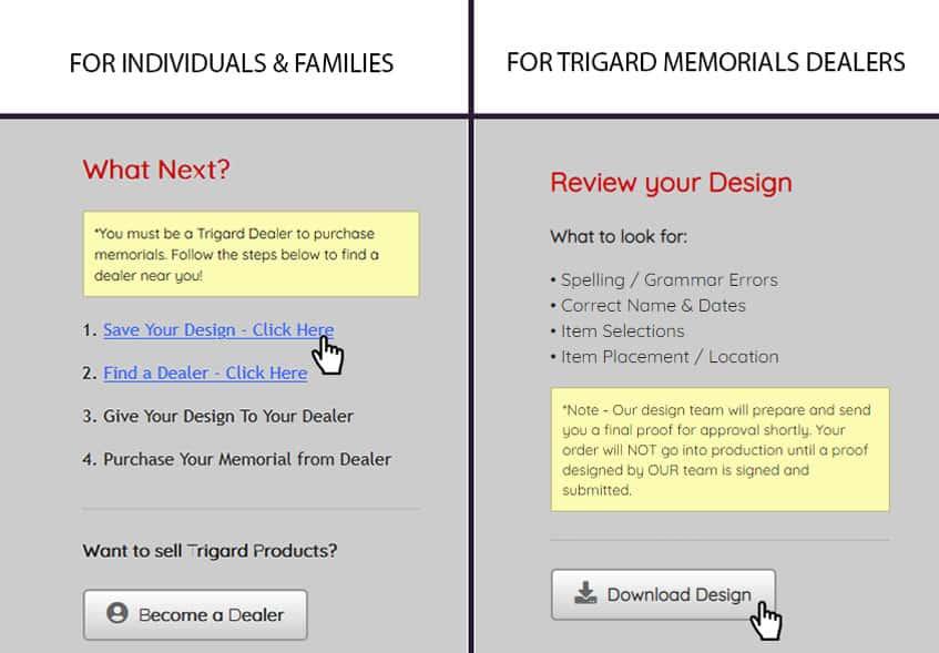 Save Design and Find a Dealer