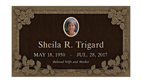 Temporary Grave Marker Magnet