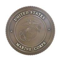Marine Corps Bronze Medallion