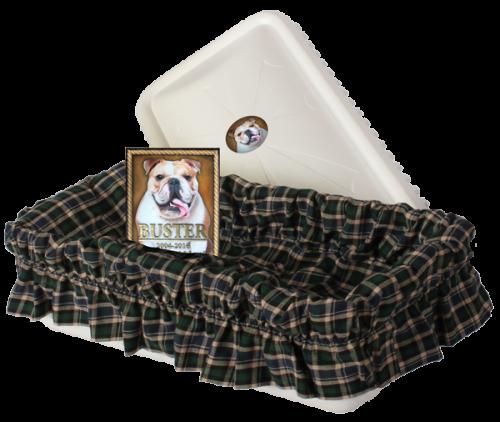 Tranquility Pet Casket Vault - Dogs, Cats