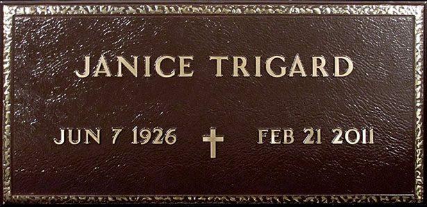 Bronze Veteran Grave Markers