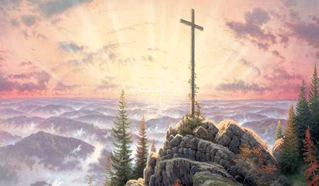 Cross In The Sunrise