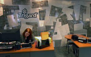 Trigard Memorials Lobby